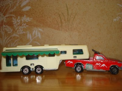 Majorette camping-car deluxe