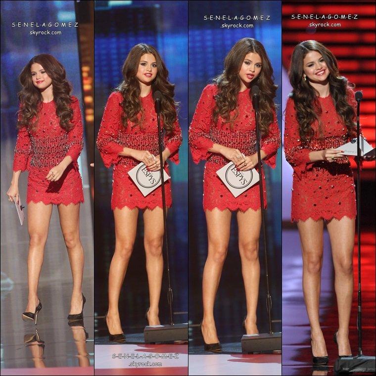 Show + tapis rouge du 17/07 au ESPY AWARDS. + clip de Slow Down qui a était tournée a Paris.