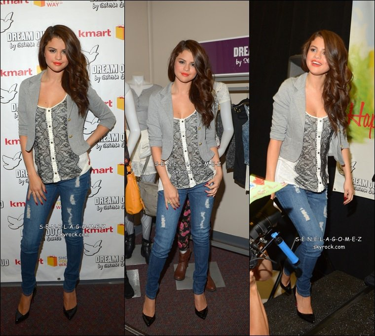 Le 24/07 C'était le lancement de la nouvelle collection DREAM OUT LOUD à NEW YORK.