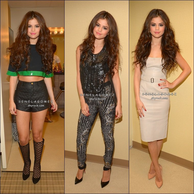 Shoot - THE HOLLYWOOD REPORTER. + Le 25/07 Selena était sur le plateau LIVE WITH REGIS & MICHAEL.