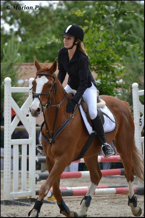 """1er Participant pour le concours """" Moi et mon/mes chevaux """" ."""