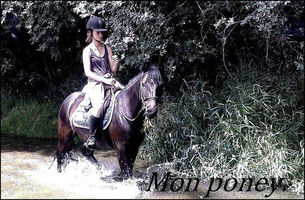 """2ème Participant pour le concours """" Moi et mon/mes chevaux """" ."""