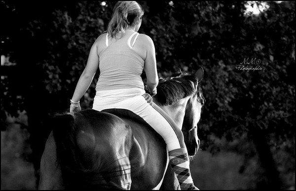 """3ème Participant pour le concours """" Moi et mon/mes chevaux """" ."""