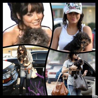 Vanessa et son chien Shadow