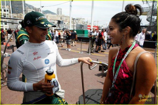 ★Vanessa Hudgens : Austin Butler, en visite sur un circuit de Formule 1 à Monaco