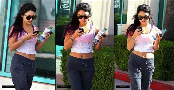 Vanessa Hudgens-En quittant le studio de danse à Los Angeles le 26 Juin ♥