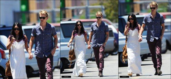 Vanessa et Austin à Los Angeles le 24 juin (: