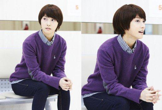 Gyuri (Kara) est un « Flower Boy » pour le drama « Nail Shop Paris »