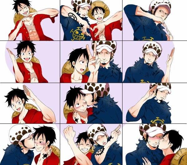 Law x Luffy.