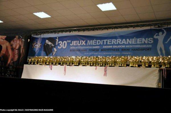 2ème en categorie Master - Jeux Méditerranéens 2013 - IFBB