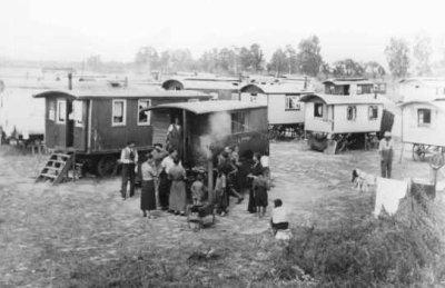 L'arrivée à Jasenovac