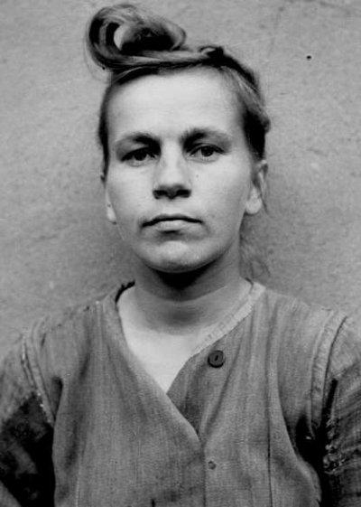 Elisabeth Volkenrath, gardienne ss