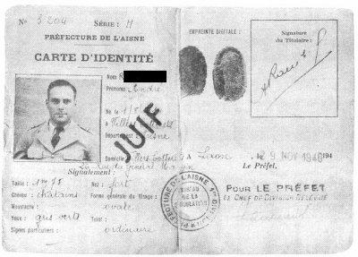 Qu'est-ce qui fait un Juif en 1940 ?