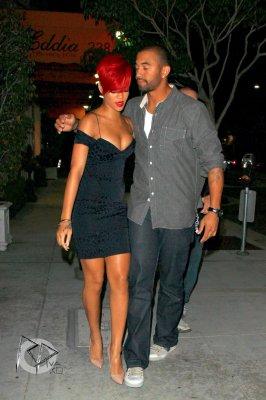 Rihanna & Matt Kemp