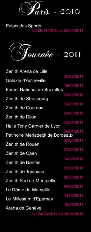 La Tournée 2011
