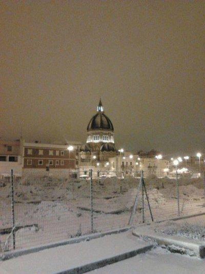 Cerignola sous la neige...