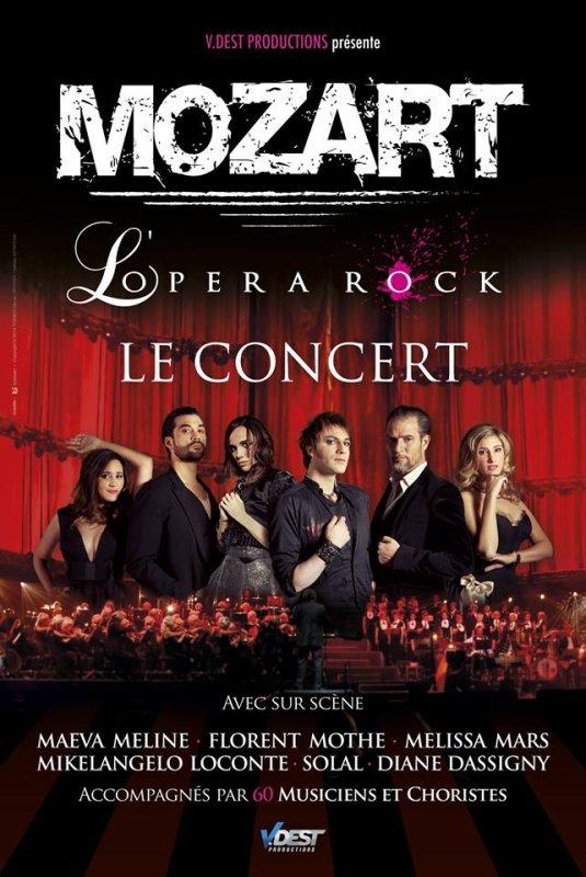Mozart l'Opéra Rock Le Concert...En France !