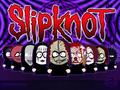 Slipknot en version south park xDeii c'est trop chou !!