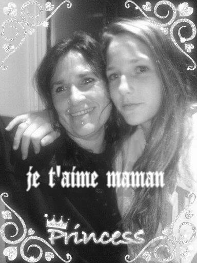 moi et ma  mere