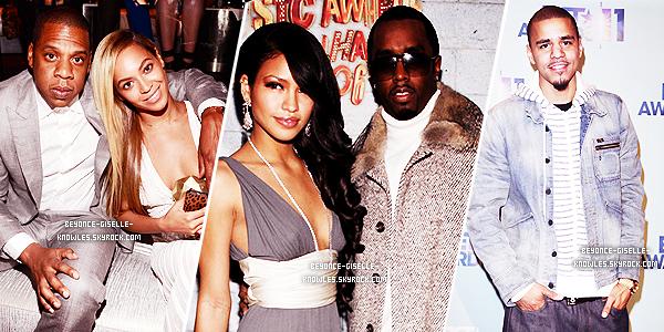 .  Beyoncé s'interpose dans une bagarre mêlant les rappeurs P. Diddy et J. Cole dans un club !  En effet, lors d'une soirée organisée ce lundi par le célèbre rappeur P. Diddy au Dream Down Hotel de New York, le protégé de Jay-Z, J. Cole, aurait dit des choses inappropriées envers la petite amie de P. Diddy, Cassie, qui ne lui a bien sûr pas plu. ''Il n'y a pas eu vraiment de coups échangés mais clairement, ça chauffait'' raconte une source présente. Assistant à la scène, Beyoncé hurlait pour que tout le monde se calme et Jay-Z essayait de séparer les deux rappeurs tout en évitant que des gens bousculent sa femme. Après quelques minutes, le calme est revenu et P. Diddy a pris le micro et a rassuré ses invités. Le texte a été fait par mes soins, crédite si tu veux l'utilisé!  .