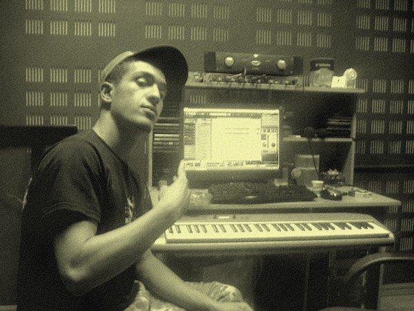me in the studio flash bang making