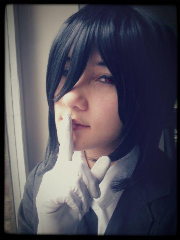 "Cosplay Sebastian (Kuroshitsuji ) ""Yes , my Lord"""