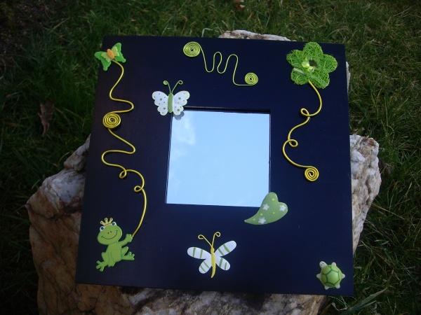 Miroir papillon magique mille et un bijoux for Miroir magique obsidienne noire