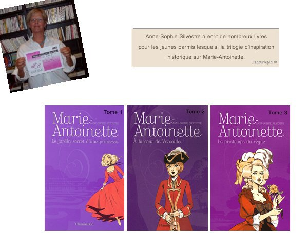 Mes lectures      ______________________________ Marie-Antoinette
