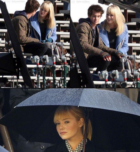 Photos Spider Man 4, avec Andrew Garfield