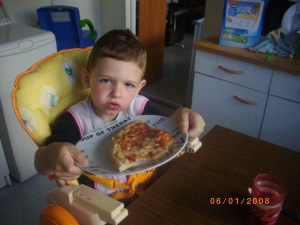 Miam miam la pizza !!!