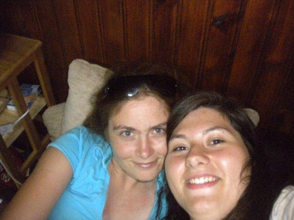 Moi et Amandine