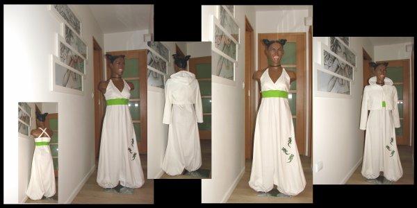 Tenue mariage : robe SAROUEL et veste