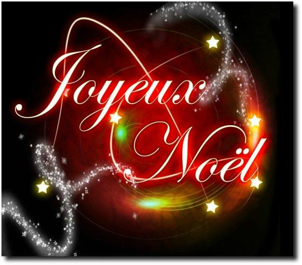 Joyeux Noël les amis , je pense très fort à vous smouakkkk