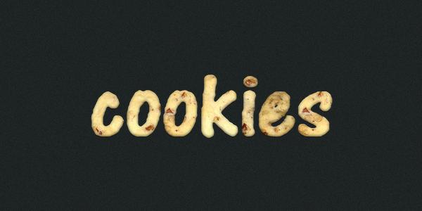 Texte en cookies