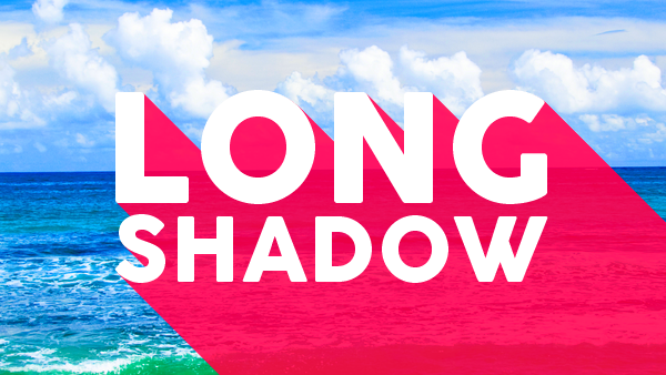 "Créer un effet ""Long Shadow"" sur un texte"