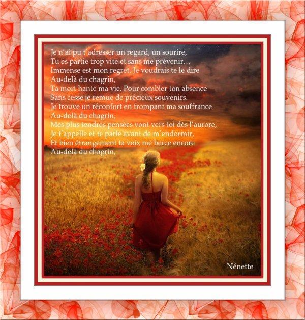 A toi Ma Petite Mère Rosy..........................