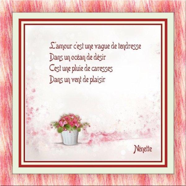 L'amour............