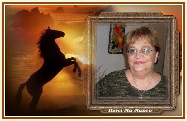 Cadeau de mon Amie Manon..........