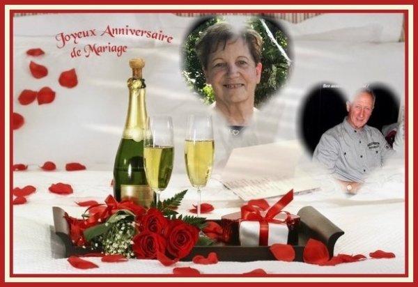 Joyeux Anniversaire de Mariage.......