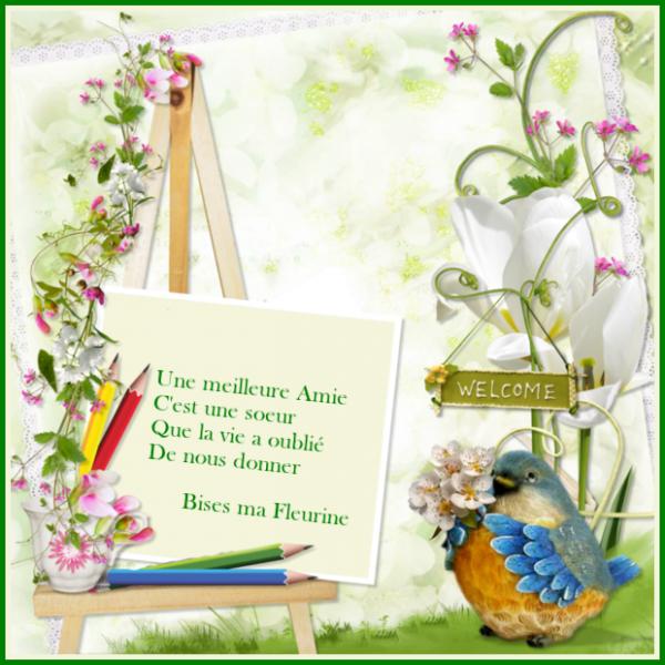 Promenade fleurie....    Merci Ma Fleurine ....