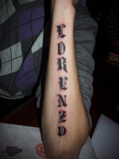 voila mon tatouage