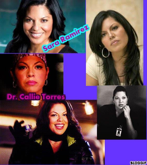 Sara Ramirez // Dr.Callie Torres