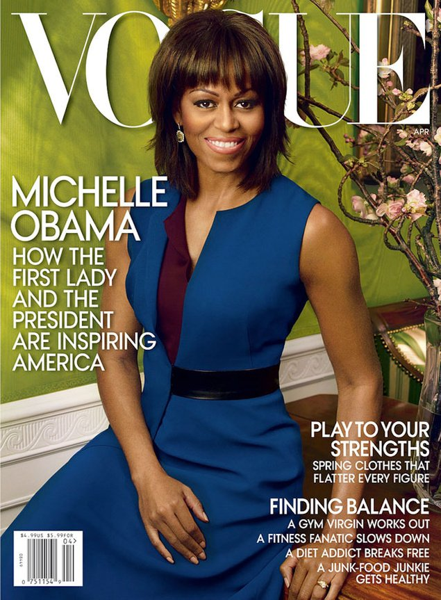 Mode : Vogue / Michelle Obama
