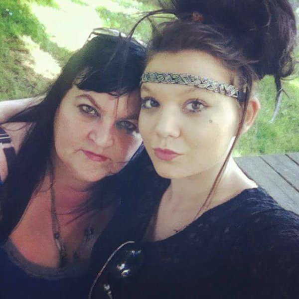 Moi et ma fille cherie ma vie
