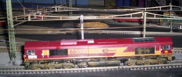 Une classe 66 en test