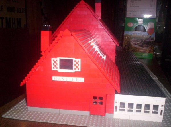 Gare de Hastière en LEGO suite