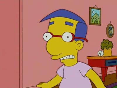 Milhouse hey tu veux savoir tout sur les simpson viens - Bart et milhouse ...