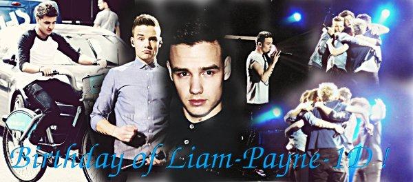 Liam-Payne-1D Birthday ! ♥