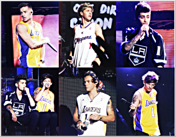 One Direction à Los Angeles !