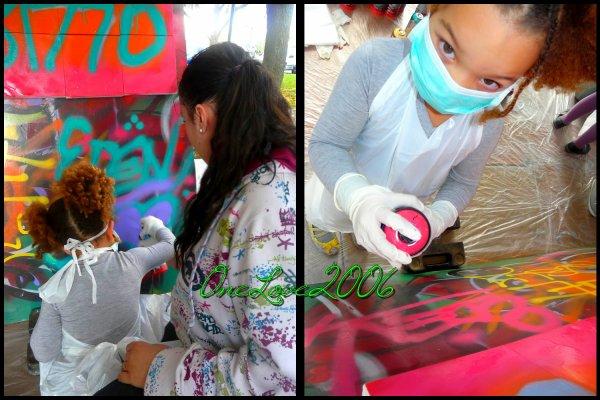 Atelier graffiti!